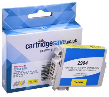 Compatible Epson 29XL Yellow High Capacity Ink Cartridge - (T2994 Strawberry)