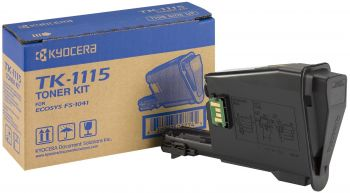 Kyocera-Mita TK-1115 Black Toner Cartridge (TK1115)