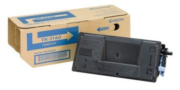 Kyocera TK-3160 Black Toner Cartridge - (TK3160)