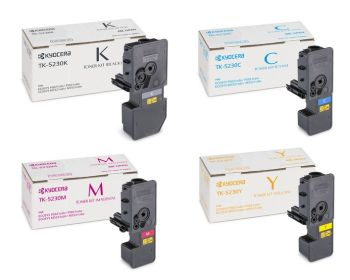 Kyocera TK-5230 High Capacity 4 Colour Toner Cartridge Multipack