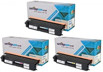 Compatible Brother TN-326 High Capacity 3 Colour Toner Cartridge Multipack (TN-326C/M/Y)