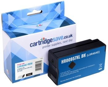 Compatible Extra High Capacity Black HP 957XL Ink Cartridge - (L0R40AE)