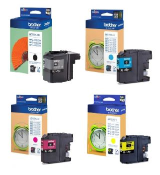 Brother LC129XL / LC125XL High Capacity 4 Colour Ink Multipack
