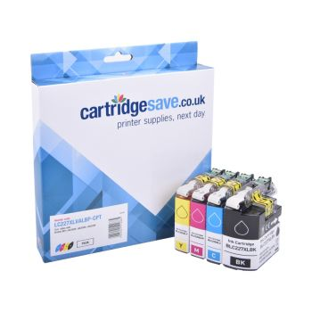 Compatible Brother LC227XL / LC225XL High Capacity 4 Colour Ink Cartridge Multipack