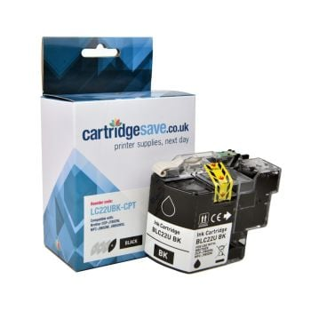 Compatible Brother LC22UBK Black Ink Cartridge
