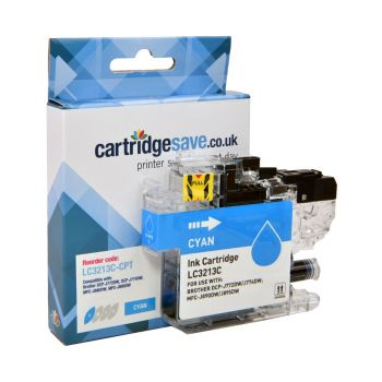 Compatible Brother LC3213C High Capacity Cyan Ink Cartridge