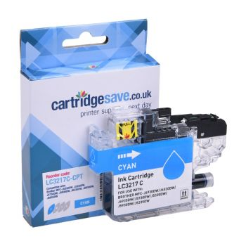 Compatible Cyan LC3217 Brother Ink Cartridge (LC3217C)