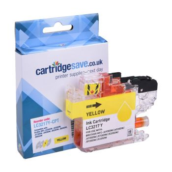 Compatible Brother LC3217 Yellow Ink Cartridge