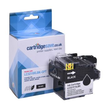 Compatible Brother LC3219XL High Capacity Black Ink Cartridge (LC3219XLBK)