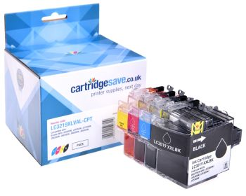 Compatible Brother LC3219XL High Capacity 4 Colour Ink Cartridge Multipack