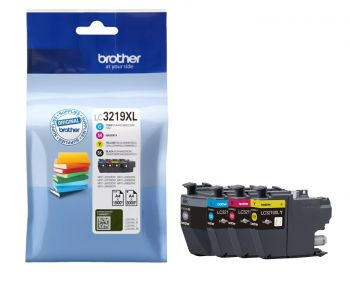 Brother LC3219XL High Capacity 4 Colour Ink Cartridge Multipack