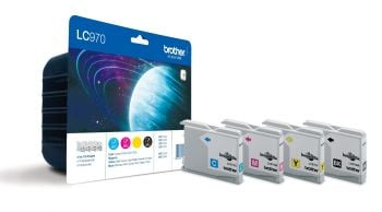 Brother LC970 4 Colour Ink Cartridge Multipack