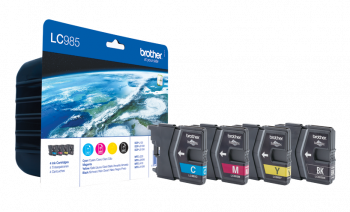 Brother LC985 4 Colour Ink Cartridge Multipack