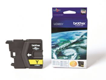 Brother LC985Y Yellow Ink Cartridge