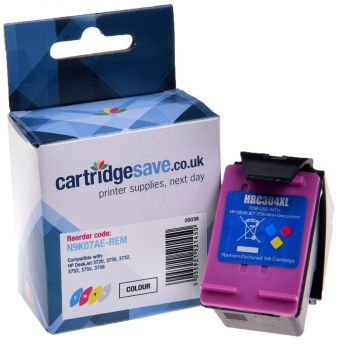 Compatible HP 304XL High Capacity Tri-Colour Ink Cartridge - (N9K07AE)
