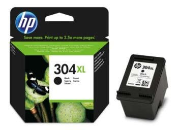 HP 304XL High Capacity Black Ink Cartridge - (N9K08AE)