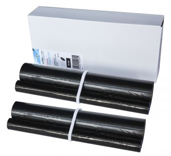 Compatible Brother PC-302RF 2 x Black Fax Thermal Ribbons Twin Pack