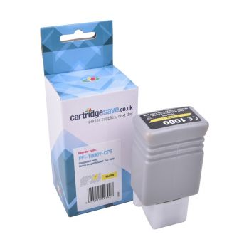 Compatible Canon PFI-1000Y Yellow Ink Cartridge