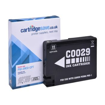 Compatible Canon PGI-29CO Chroma Optimiser Ink Cartridge - (4879B001AA)