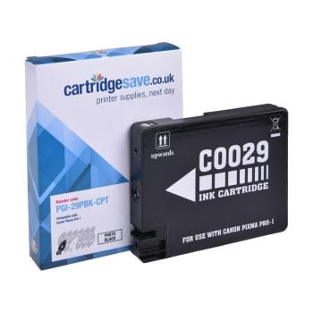 Compatible Canon PGI-29PBK Photo Black Ink Cartridge - (4869B001AA)