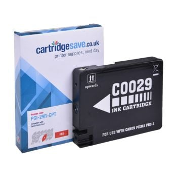 Compatible Canon PGI-29R Red Ink Cartridge - (4878B001AA)