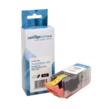 Compatible Canon PGI-555 Extra High Capacity Black Ink Cartridge - (PGI-555PGBKXXL)