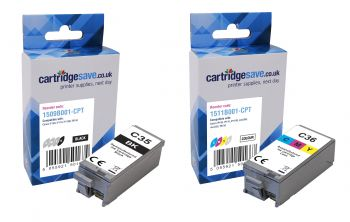 Compatible Canon PGI-35BK / CLI-36 Black & Colour Ink Cartridge Multipack