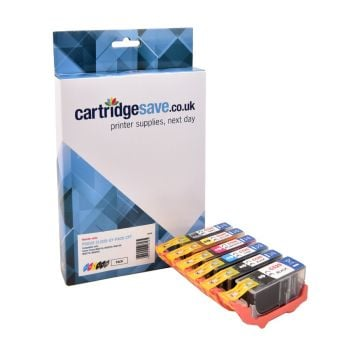 Compatible Canon PGI-525 / CLI-526 2 Black & 4 Colour Ink Cartridge Multipack