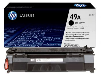HP 49A Black Toner Cartridge - (Q5949A)