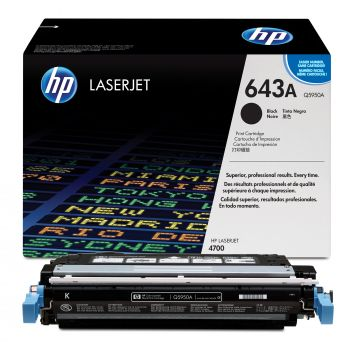 HP 643A Black Toner Cartridge - (Q5950A)