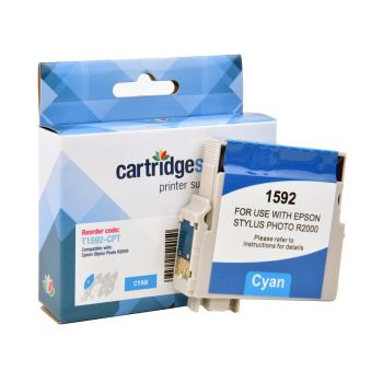 Compatible Epson T1592 Cyan Ink Cartridge