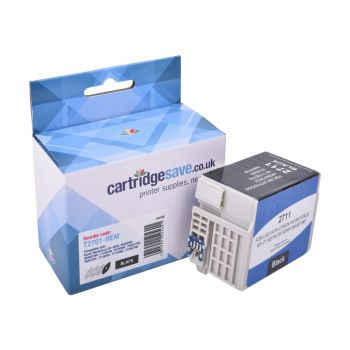 Compatible Epson 27 Black Ink Cartridge - (T2701)