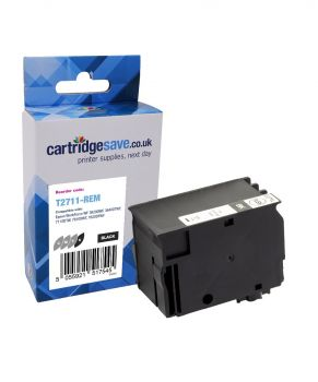 Compatible Epson 27XL High Capacity Black Ink Cartridge - (T2711)