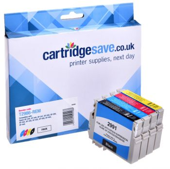 Compatible Epson 29 4 Colour Ink Cartridge Multipack (T2986 Strawberry)