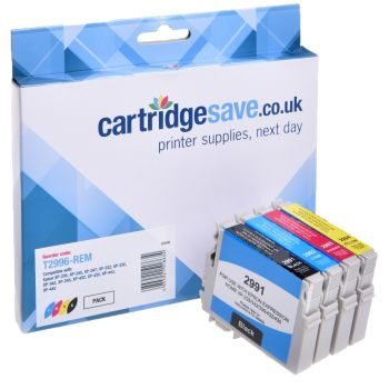 Compatible Epson 29XL 4 Colour High Capacity Ink Cartridge Multipack (Strawberry)