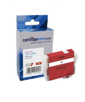 Compatible Epson T3247 Red Ink Cartridge