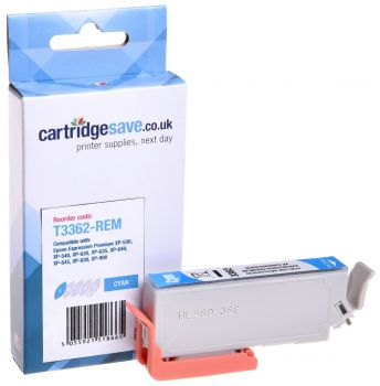 Compatible Epson 33XL Cyan High Capacity Ink Cartridge - (T3362 Oranges)