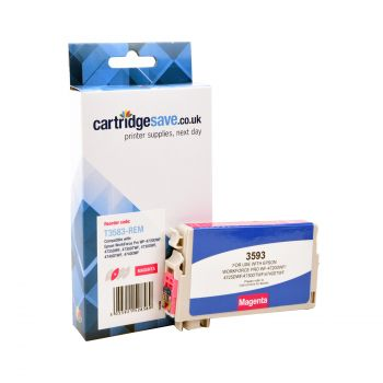 Compatible Epson 35 Magenta Ink Cartridge - (T3583)