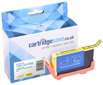 Compatible HP 903XL High Capacity Yellow Ink Cartridge - (T6M11AE)