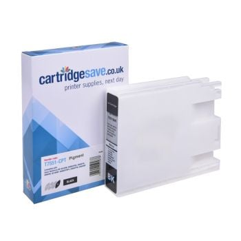 Compatible Epson T7551 High Capacity Black Ink Cartridge - (C13T755140)