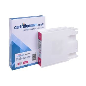 Compatible Epson T7553 High Capacity Magenta Ink Cartridge - (C13T755340)