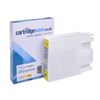 Compatible Epson T7554 High Capacity Yellow Ink Cartridge - (C13T755440)