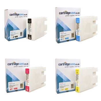 Compatible Epson T907 Extra High Capacity 4 Colour Ink Cartridge Multipack