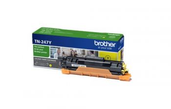 Brother TN-247Y High Capacity Yellow Toner Cartridge