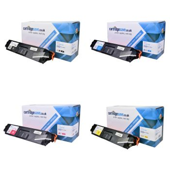 Compatible Brother TN-329 Extra High Capacity 4 Colour Toner Cartridge Multipack (TN-329BK/C/M/Y)