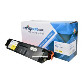 Compatible Brother TN-329Y Extra High Capacity Yellow Toner Cartridge
