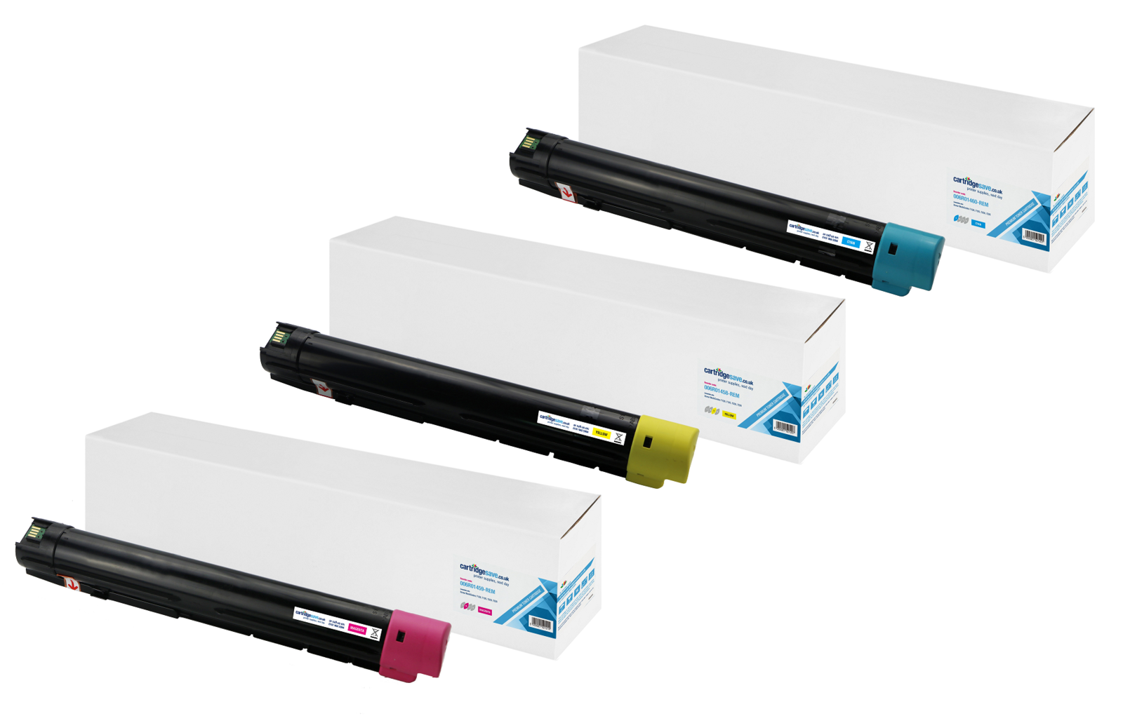 Compatible 3 Colour Xerox 006R014 Toner Cartridge Multipack - (006R01458/59/60)