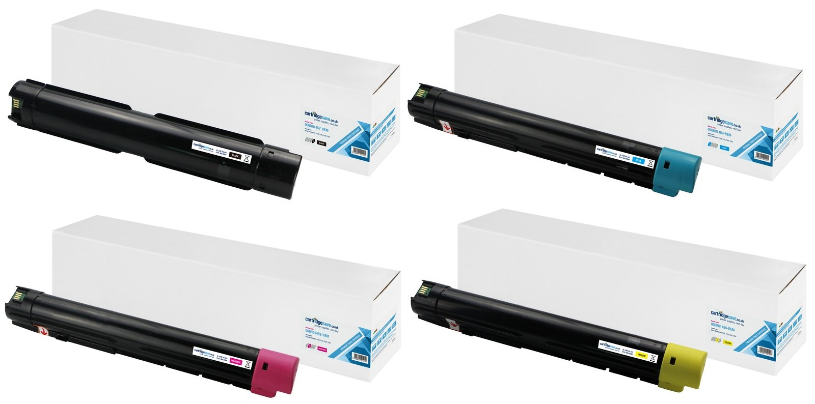 Compatible 4 Colour Xerox 006R014 Toner Cartridge Multipack - (006R01457/60/59/58)