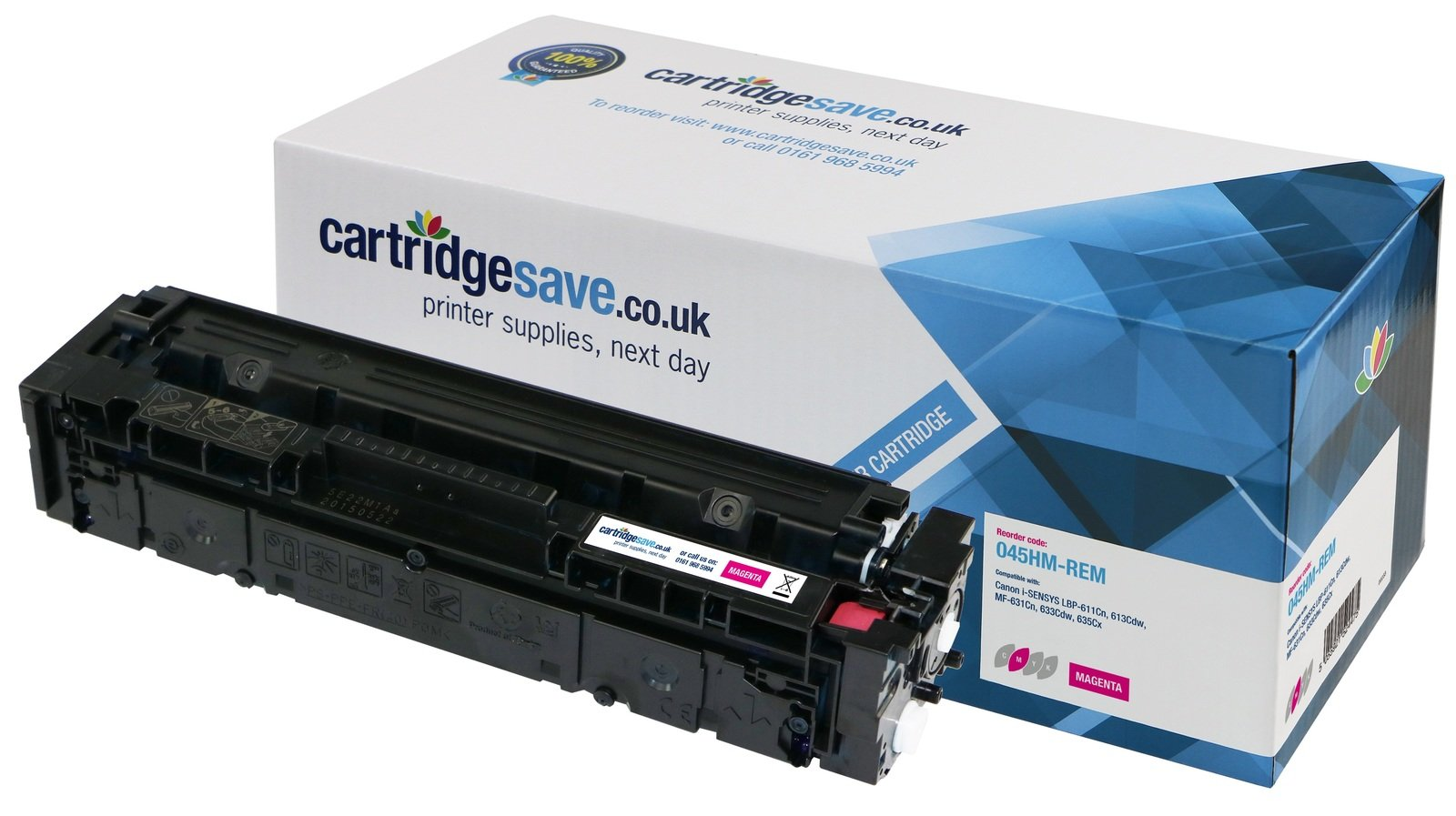 Compatible High Capacity Magenta Canon 045H-M Toner Cartridge (1244C002)