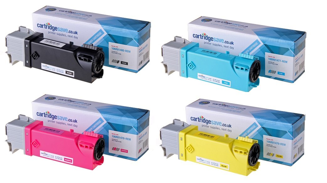 Compatible 4 Colour Xerox 106R0147 Laser Toner Multipack - (Replaces 106R01480/77/78/79)